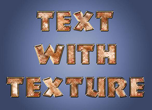 TexturedText580